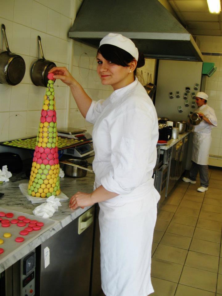 Ana Consulea la Școala de Cofetari Montbeliard din Franța